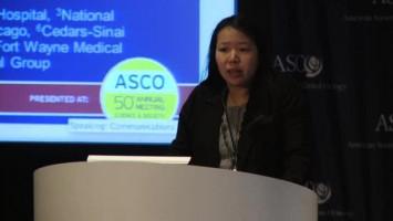 Cediranib plus olaparib significantly increases PFS in recurrent ovarian cancer ( Dr Joyce Liu - Dana-Farber Cancer Institute, Boston, USA )