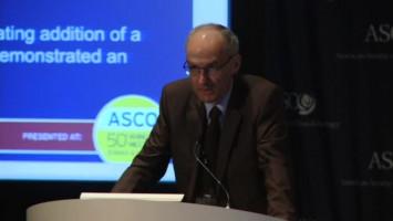 Second-line treatment with ramucirumab plus docetaxel extends survival in advanced NSCLC ( Dr Maurice Pérol - Centre Léon Bérard, Lyon, France )