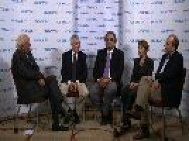 The evolving role of immunotherapy in oncology ( Prof Gordon McVie; Prof Alexander Eggermont; Dr Kim Margolin; Prof Micheal Maio; Prof Thomas Lynch )