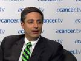 Early phase 1/2 results with oral proteasome inhibitor MLN9708 in myeloma ( Dr Sagar Lonial – Emory University, Atlanta, USA )