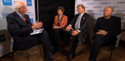 Role of ECCO in the development of personalised oncology treatment ( Kathy Oliver – ECCO Patient Advisory Committee; Prof Julio Celis – ECCO Policy Committee; Prof Cornelis van de Velde – President of ECCO )