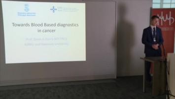 Towards blood based diagnostics in cancer ( Prof Dean Harris - Swansea University, Swansea, UK )