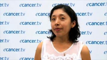 ESMO 2016 Cáncer de mama triple negativo ( Dra Katerin Rojas - Hospital 12 de Octubre, Madrid, España )