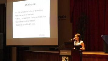 Linfoma de células del manto frágiles no candidatos a trasplante ( Dra Gabriela Granados - Hospital Calderón Guardia, Costa Rica )