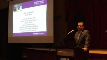 Manejo sistémico de cáncer de pulmón: énfasis en Terapia Blanco ( Dr Luis Raez - Memorial health Care Systems, FL, USA )