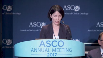New ALK inhibitor alectinib halts lung cancer growth more than a year longer than crizotinib, with fewer severe side effects ( Dr Alice Shaw - Massachusetts General Hospital Cancer Center, Boston, USA )
