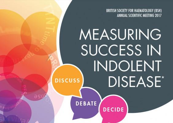 Measuring success in indolent disease