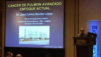 Manejo de metástasis en cáncer de pulmón, guías de tratamiento ( Dr José Carlos Revilla - Hospital Daniel A. Carrión  ALIADA, Lima, Perú )