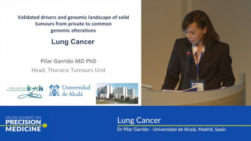 Lung cancer and precision medicine ( Dr Pilar Garrido - Universidad de Alcalá, Madrid, Spain )
