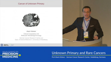 Unknown primary and rare cancers ( Prof Alwin Krämer - German Cancer Research Center, Heidelberg, Germany )