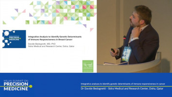 Integrative analyses to identify genetic determinants of immune responsiveness in cancer ( Dr Davide Bedognetti - Sidra Medical and Research Center, Doha, Qatar )