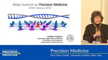 Milan summit on precision medicine ( Prof Chiara Tonelli - University of Milan, Milan, Italy )