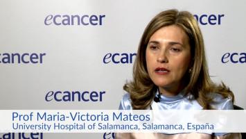 Evaluación del riesgo de progresión de pacientes con mieloma asintomático. ( Dra. María Victoria Mateos, Hospital Universitario de Salamanca, Salamanca, España )