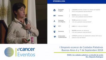 PAMI y los cuidados paliativos, un desafío de acción ( Dra. Alejandra Rodríguez - Gerencia Prestaciones Medicas, PAMI Argentina )