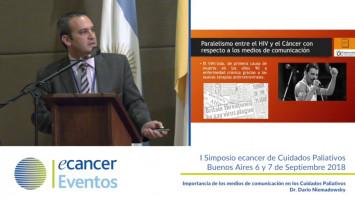 Importancia de los medios de comunicación en los cuidados paliativos. ( Dr. Dario Niemadowsky - Instituto Henry Moore Buenos Aires, Argentina )