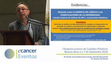 El vínculo como fortaleza para la mejor atención al paciente ( Dr. Gustavo Desimone - Asociación Pallium Latinoamérica Buenos Aires, Argentina )