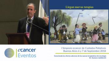 Conociendo los efectos adversos de las nuevas terapéuticas de oncología ( Dr. Gustavo Jankilevich - Hospital Durand Buenos Aires, Argentina )