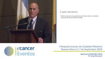 Experiencia SALUD DEL VALLE ( Dr Jorge Dureaume - Sanatorio Güemes, Buenos Aires, Argentina )