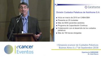 Experiencia CAREHOME ( Dr. Ariel Cherro - Carehome Cuidados Paliativos, Buenos Aires, Argentina )