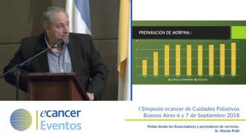 Visión desde los financiadores y prestadores de servicios. ( Sr. Martin Polít - Pharmathia, Argentina )