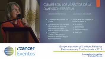 El acompañamiento espiritual ( Dra.Isabel Pincemin - Presidente AAMYCP Buenos Aires, Argentina )