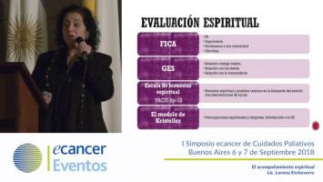 El acompañamiento espiritual ( Lic. Lorena Etcheverry - Hospital Nacional Dr. Baldomero Sommer Hospice Madre Teresa Buenos Aires, Argentina )