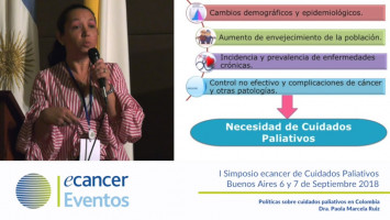 Políticas sobre cuidados paliativos en Colombia. ( Dra. Paola Ruiz - Presidente ASOCUPAC Colombia )