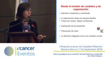 Nuevos paradigmas de cronicidad. Atención Paliativa en el s. XXI ( Dra. Vilma Tripodoro - Instituto Lanari Instituto Pallium Latinoamérica Buenos Aires, Argentina )