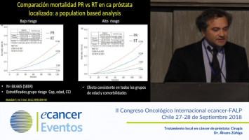 Tratamiento local en cáncer de Próstata: Cirugía ( Dr. Álvaro Zúñiga - Pontificia Universidad Católica de Chile, Santiago, Chile. )