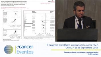 Conceptos clínicos, tecnológicos e investigacionales ( Dr. Eric Lartigau - Centre Oscar Lambret, Lille, Francia. )
