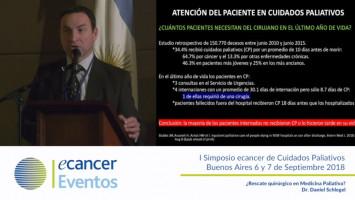 Indicaciones de cirugía en el paciente en cuidados paliativos ( Dr. Daniel Scheleguel - Hospital Durand Buenos Aires, Argentina )