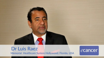 Terapia dirigida en cáncer de pulmón. ( Dr Luis E. Raez, Director Memorial Cancer Institute, Florida, USA )