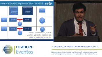 Impacto médico-clínico/médico-económico de la radioterapia avanzada vs radioterapia convencional vs cirugía en Chile (  )