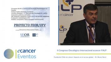 El acceso a la radioterapia ( Dr. Carlos Ferrer - Hospital Provincial, Castellón, España. )