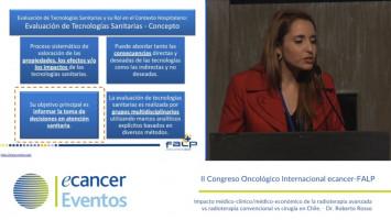 Experiencia local de FALP en la implementación de la escala ESMO ( QF. Camila Quirland - Fundación Arturo López Pérez, Santiago, Chile )