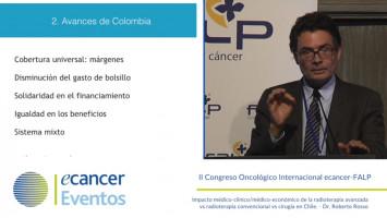 Cáncer y technología: lecciones de la experiencia colombiana ( Alejandro Gaviria Uribe - Exministro de Salud de Colombia )