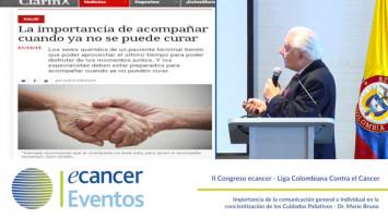 Importancia de la comunicación general e individual en la concientización de los Cuidados Paliativos ( Dr Mario Bruno - Federaciòn de Sociedades de Cancerologías de Sudamérica, Argentina. )