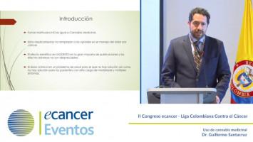 Uso de cannabis medicinal ( Dr. Guillermo Santacruz - Fundación Santa Fé de Bogotá Bogotá, Colombia )