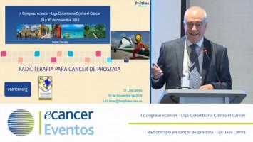 Radioterapia en cáncer de próstata ( Dr. Luis Larrea - Hospitales NISA-VITHAS, Valencia, Spain )