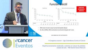 Hipofraccionamiento moderado y extremo en cáncer de próstata: estado del arte ( MD Daniel Grossi Marconi - Fundacao PIO XII Hospital Sao Judas Tadeu, Sao Paulo, Brazil )