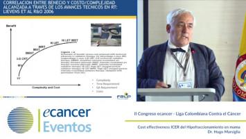 Cost effectiveness ICER del Hipofraccionamiento en mama ( Dr  Hugo Marsiglia - Fundacion Arturo Lopez Perez, FALP, Chile )
