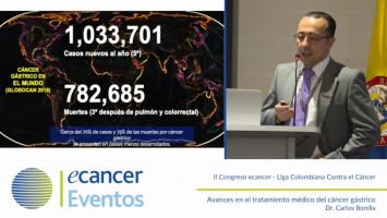 Avances en el tratamiento médico del cáncer gástrico ( Dr. Carlos Bonilla - Instituto Nacional de Cancerología Bogotá, Colombia )