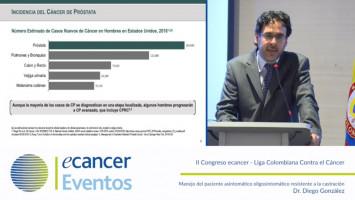 Manejo del paciente asintomático - oligosintomático resistente a la castración ( Dr. Diego González - Astellas )