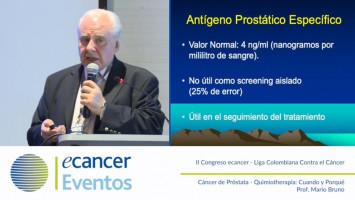 Quimioterapia ¿Cuando y por qué? ( Prof. Mario Bruno - Federación de Sociedades de Cancerología de Sudamérica, Argentina )