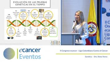 Cáncer de mama: Genética ( Dra. Diana Torres - Pontificia Universidad Javeriana Bogotá, Colombia )