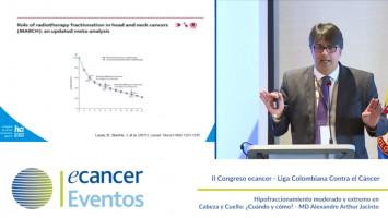 Hipofraccionamiento moderado y extremo en Cabeza y Cuello: ¿Cuándo y cómo? ( MD Alexandre Arthur Jacinto - Hospital Amor, Sao Paulo, Brazil )