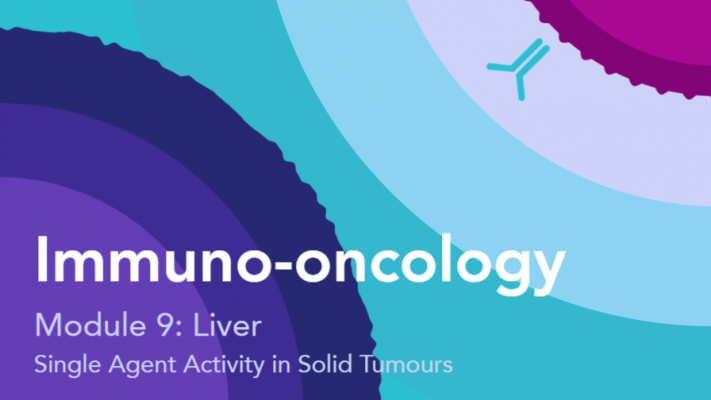 Single agent activity of IOI in solid tumours: Liver
