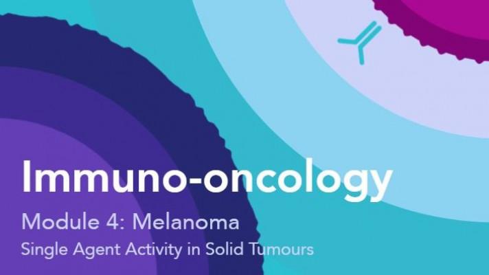 Single agent activity of IOI in solid tumours: Melanoma