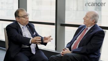 Prof Ahmed Elzawawy on global cancer control ( Dr Eduardo Cazap and  Prof Ahmed Elzawawy )