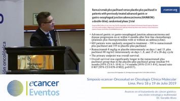 Avances en el tratamiento de cáncer gástrico: una visión estratégica multimodal ( Dr. Geraldo Alves, Hospital Sta. Rosa HSR, Mato Grosso, Brasil )